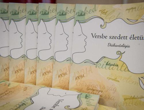 """""""Versbe szedett életünk"""" – megjelent gyöngyösi diákjaink antológiája"""